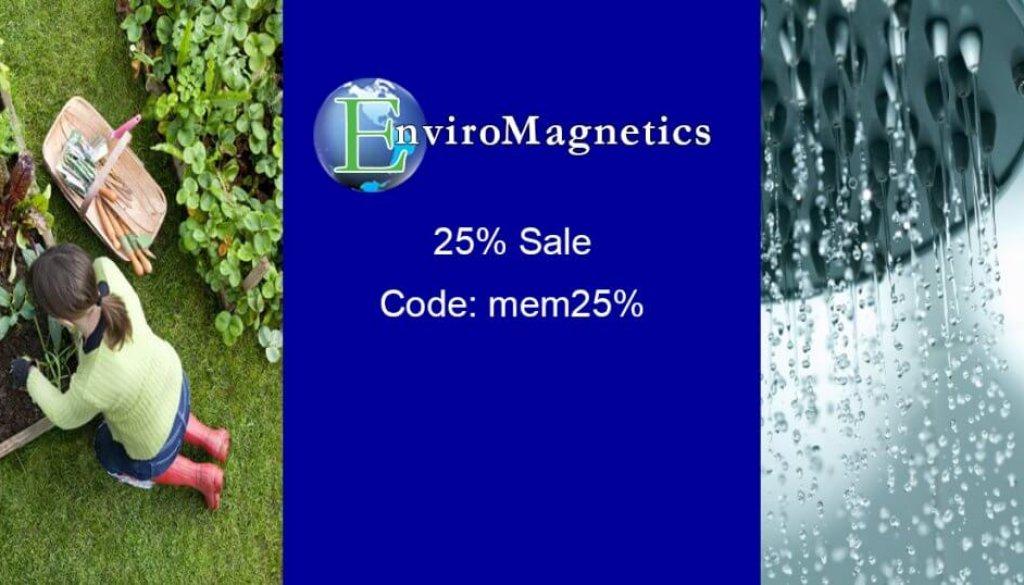 FB Enviromagnetics Memorial Day 25% Sale 201905