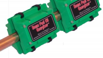 Home Heating Oil Magnetic Fuel Saver System