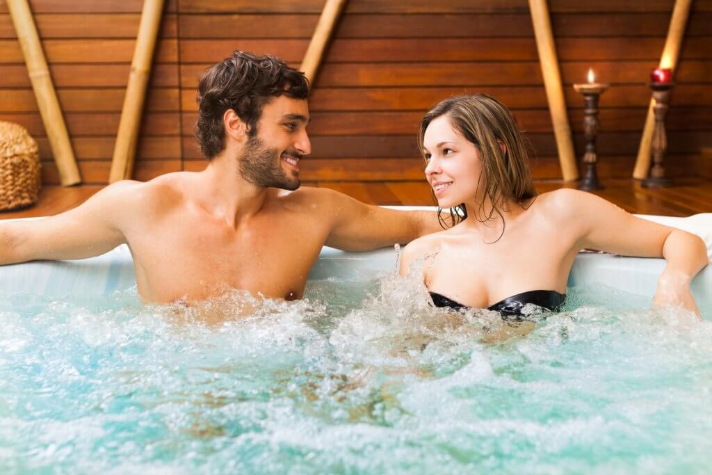 Hot Tub with Bromine Neutralizer